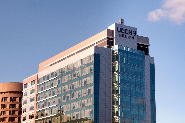 UConn Health Center in Farmington, Connecticut, USA